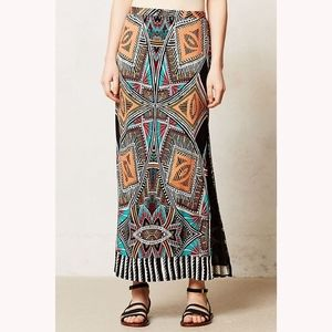 Maeve Moorea Maxi Skirt - Anthropologie - S